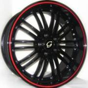 G-Line G820 Blk Red Stripe