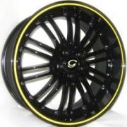 G-Line G820 Blk Yellow Stripe