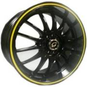 G-Line G824 Blk Yellow Stripe