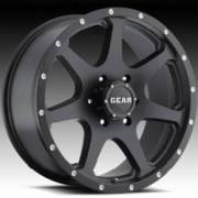 Gear Alloy 727MB Smoke Satin Black w/Machine Spots
