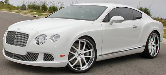 GFG Forged Fiorano White for Bentley