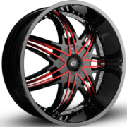 Gianna Helios Black Red Inserts