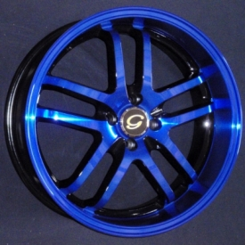 G 817 Black and Blue 2-Tone