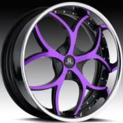 Hipnotic Venom Black Purple Chrome