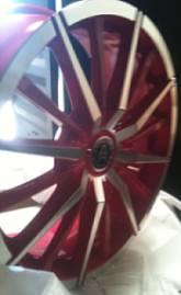 Wolf Race ID416 Pink Wheels