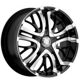 Incubus Alloys 500 Paranormal Gloss Black Machined