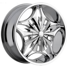 Incubus Alloys 713 Virus Chrome