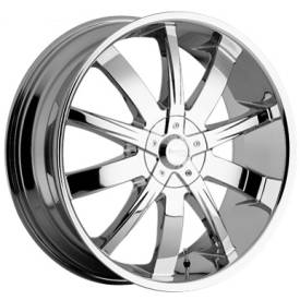 Incubus Alloys 764 Poison Chrome