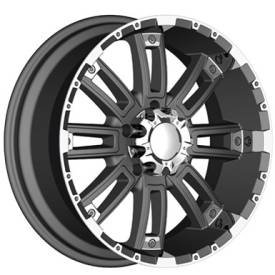 Incubus Alloys 816 Crusher Flat Black