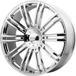 KMC KM677 D2 Chrome Wheels