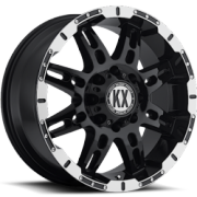 KX CP34 Black Machined