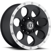 KX CP41 Matte Black Machined