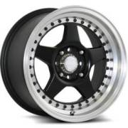 Katana K122 Black Machined Wheels