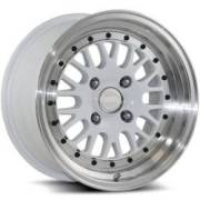 Katana K123 Gloss White Wheels