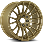 Katana K125 Gold Wheels