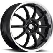Katana KSD Gloss Black Machined Wheels