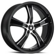Konig Airstrike Gloss Black Machined