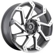 Konig Exhale Dark Silver Machined Face