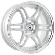 Konig Lightspeed White Machined Lip