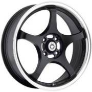 Konig Starlite Matte Black Machined