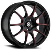 Konig illusion Gloss Black Red