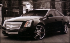 CADILLAC CTS WITH LX-6 & LEXANI GRILLE KIT