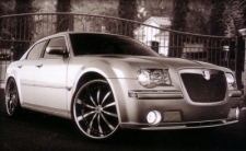 CHRYSLER 300C WITH LSS-10 & LEXANI GRILL KIT
