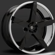 Lexani Invictus-Z Black with Chrome Lip