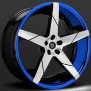 Lexani Invictus-Z Machine Black with Blue Lip