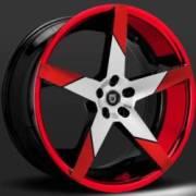 Lexani Invictus-Z Machine Black Red Tip & Red Lip