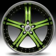 Lexani LSS-5 Green and Black