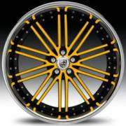 Lexani LSS-8 Yellow and Black