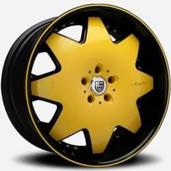 Lexani LX-2 Yellow and Black