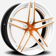 Lexani LZ-105 White Orange Center