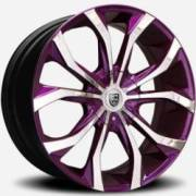Lexani Lust Chrome and Purple