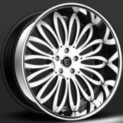 Lexani Pisces White and Black Wheels