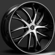 Lexani Polaris Machine Black Wheels