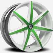 Lexani R-Seven Green and White