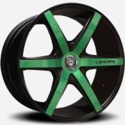 Lexani R-Six Green and Black
