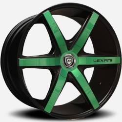 Lexani R-Six Green and Black