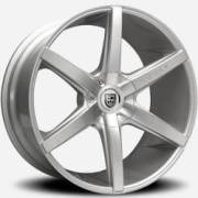 Lexani R-Six Silver Wheels