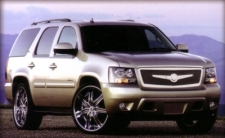 CHEVY TAHOE WITH LX-7 & LEXANI PREMIUM GRILLE KIT