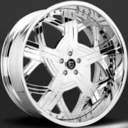 Lexani Taurus LF-729 Chrome Wheels