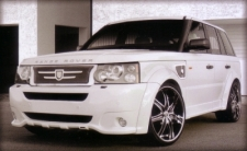 RANGE ROVER SPORT WITH LX-7 & LEXANI GRILLE KIT