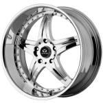 Lorenzo WL12 Chrome Wheels