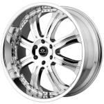 Lorenzo WL14 Chrome Wheels