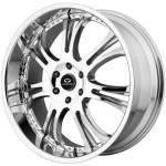 Lorenzo WL15 Chrome Wheels