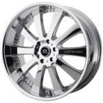 Lorenzo WL17 Chrome Wheels