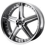 Lorenzo WL19 Chrome Wheels
