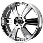 Lorenzo WL20 Chrome Wheels